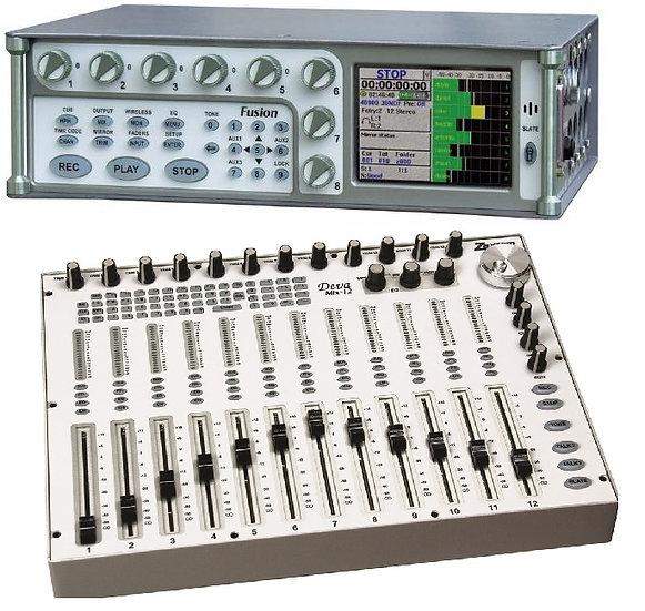 Grabador de audio Zaxcom Fusion + controladora Deva mix 12
