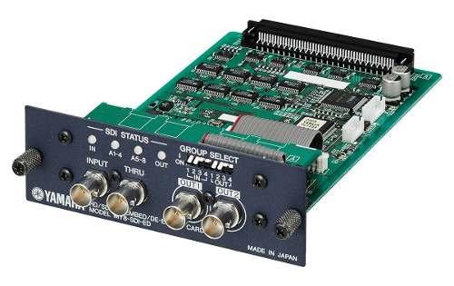 Tarjeta Expansión Mixer Yamaha Emb-Desemb. Yamaha MY8-SDI-ED