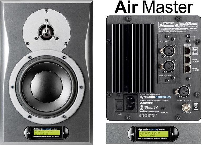 Monitor de estudio biamplificado  5.1 DynAudio AIR6