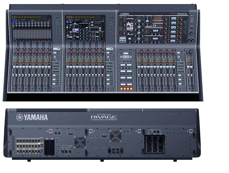 Mezclador de audio digital Yamaha PM-7 Rivage