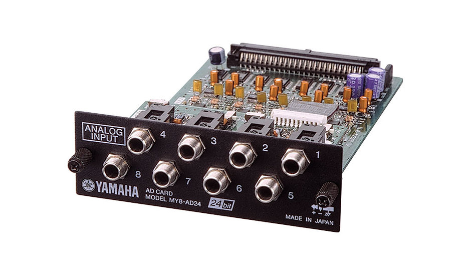 Tarjeta Expansión Mixer Yamaha Entradas lineas analog.. Yamaha AD-24