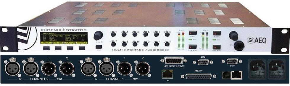 Audio Codec RDSI-IP AEQ - Phoenix Stratos