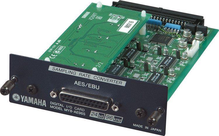 Tarjeta Expansión Mixer Yamaha Dig.AES-EBU Yamaha MY8-AE96S