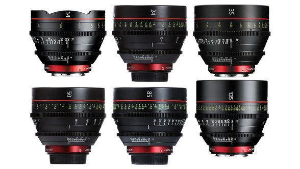 Canon  Cn-E T1.5 (14,24,35,50,85,135mm)