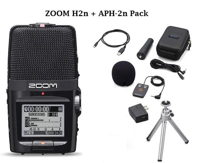 Grabador de audio Zoom H2n