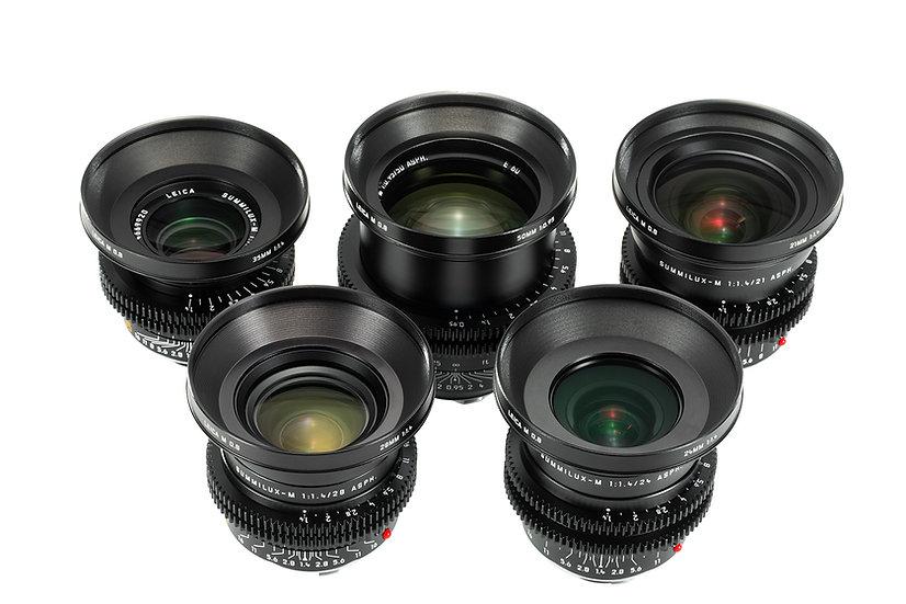 Leica M 0.8 T1.4/2.0 (21,24,28,35,50,50n,75,90mm)