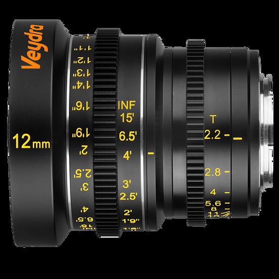Veydra Mini Prime 12mm T2.2