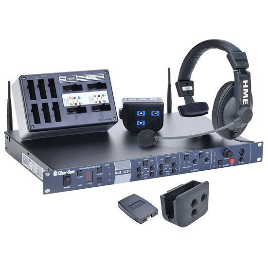 Intercom Inalámbrica 5 beltpack HME