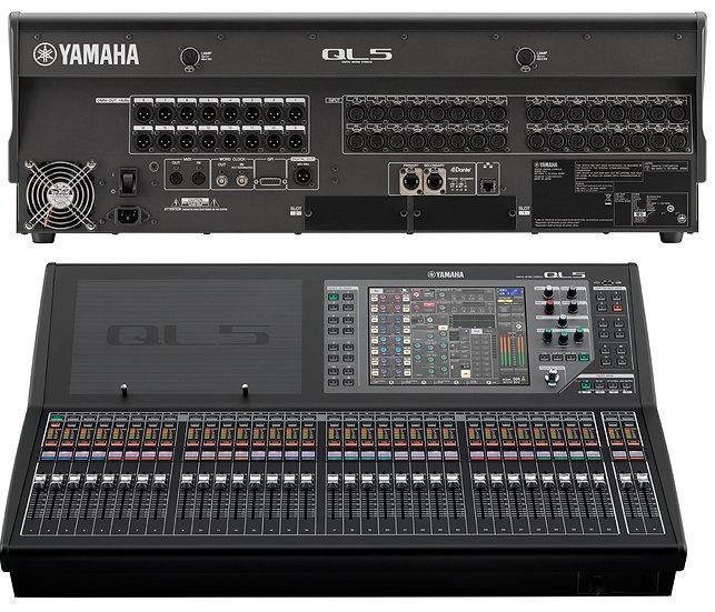 Mezclador de audio digital Yamaha QL-5