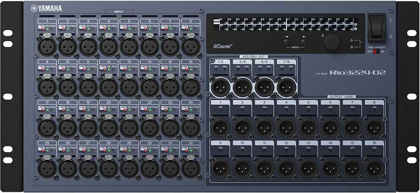 Stage Box - DANTE Yamaha RIO 3224 D2