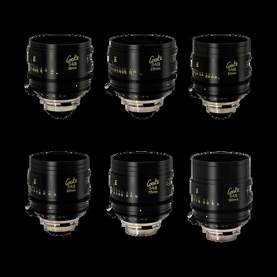 Cooke S4I T2 (18,25,32,40,50,65,75,100,135mm)