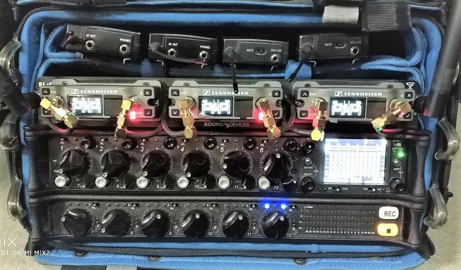 Grabador de audio Sound Devices 688 + CL6 + SL6 + EK6042