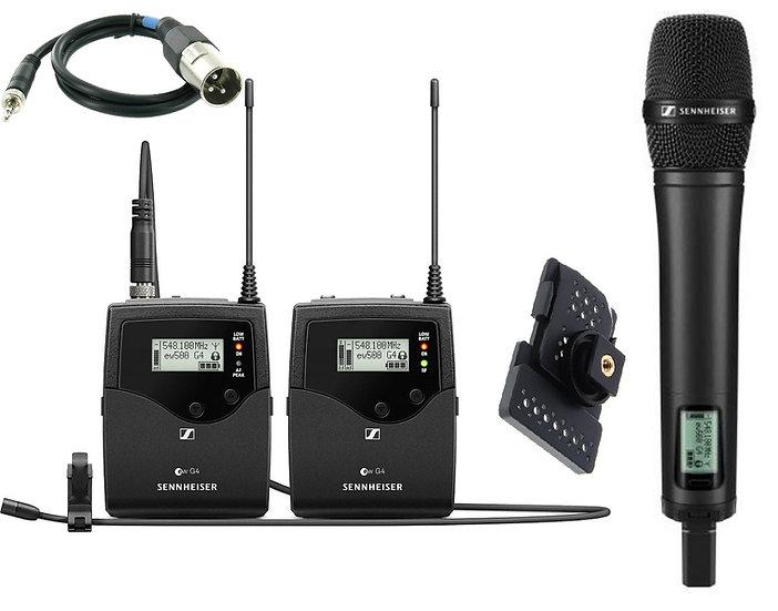 Microfono inalambrico Sennheiser ew-500G4