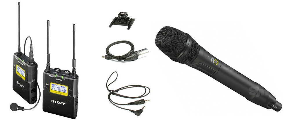 Microfono inalambrico (2ch) Sony URX
