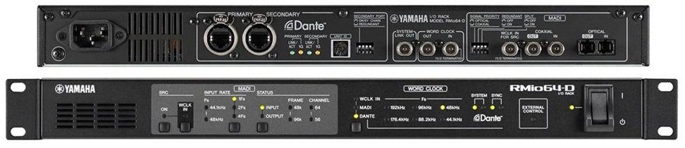 Interface MADI-DANTE Yamaha R-Mio 64D