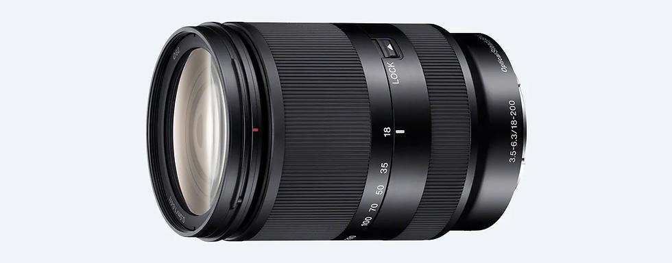 Sony 18–200mm F3,5–6,3 Oss