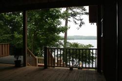 Lake Martin deck addition