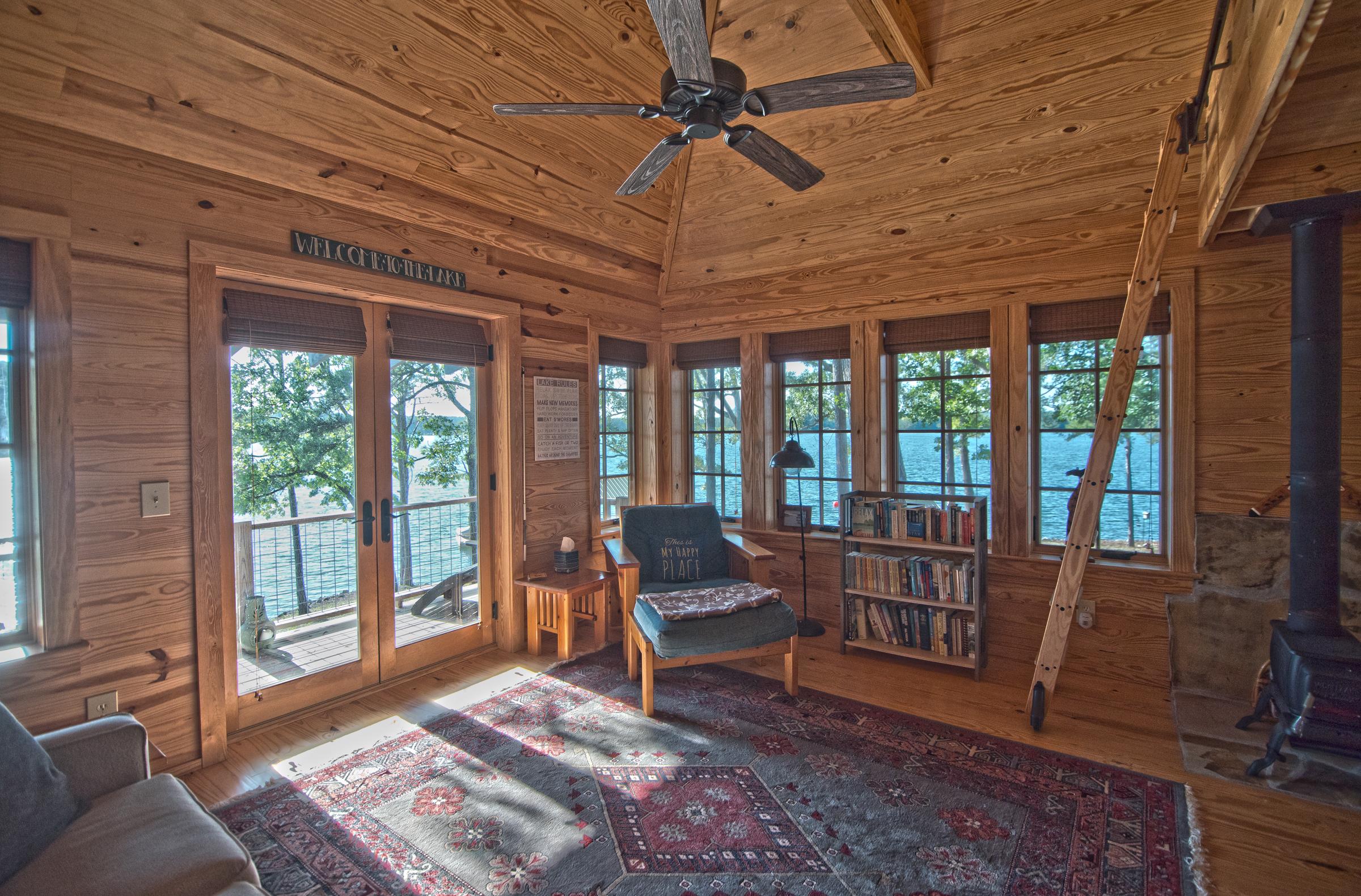 Lake house remodel on Lake Martin