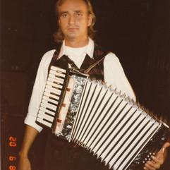 Tim in London, 1985