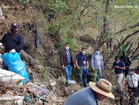 Cierran otro basurero ilegal en Concepción, Sololá