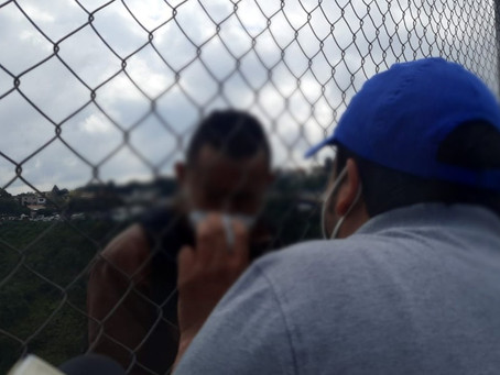 Hombre intenta lanzarse del Puente El Incienso