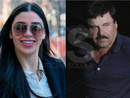 "Capturan a Emma Coronel, esposa del ""Chapo"", Guzmán"
