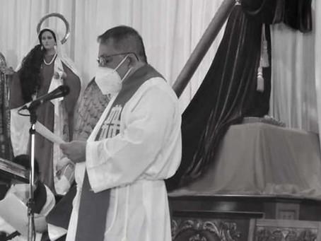 Sacerdote de iglesia en Ipala fallece por covid-19
