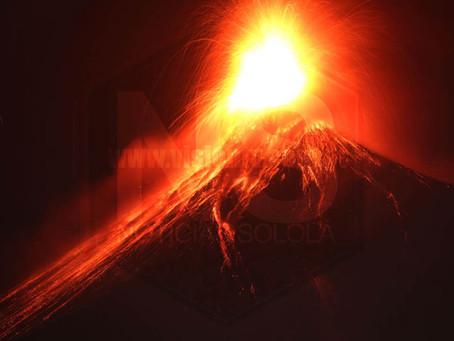 Volcán de Pacaya aumenta su actividad, expertos pronostican explosión similar a la del 2010