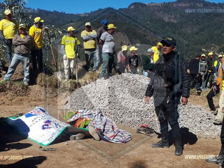 Trabajadores mueren soterrados