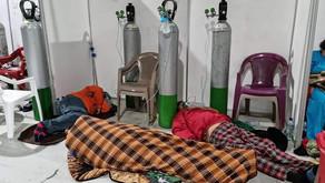 Hospital Temporal del Parque de la industria ha llegado a su máxima capacidad