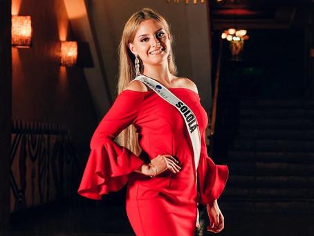 Sololateca participa por la corona de Miss Guatemala Latina 2021