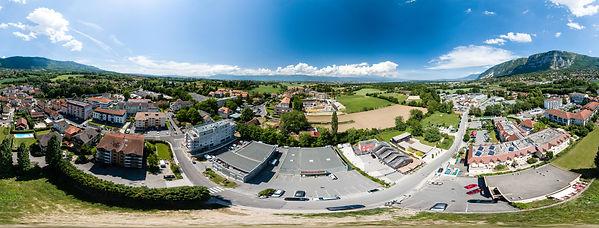 photo aérienne 360°