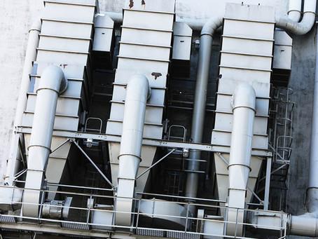 Монтаж систем вентиляции воздуха