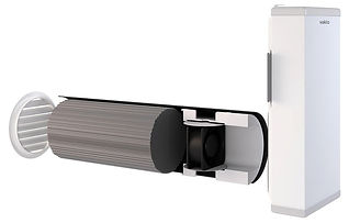 Рекуператор воздуха для дома, коттеджа или квартиры