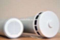 Приточный клапан КИВ-125 М