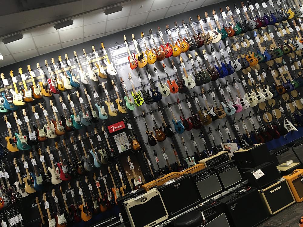 Guitar Center New York, Manhatten