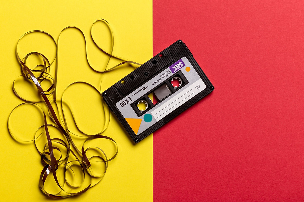 Die gute alte Kassette - pexels.com