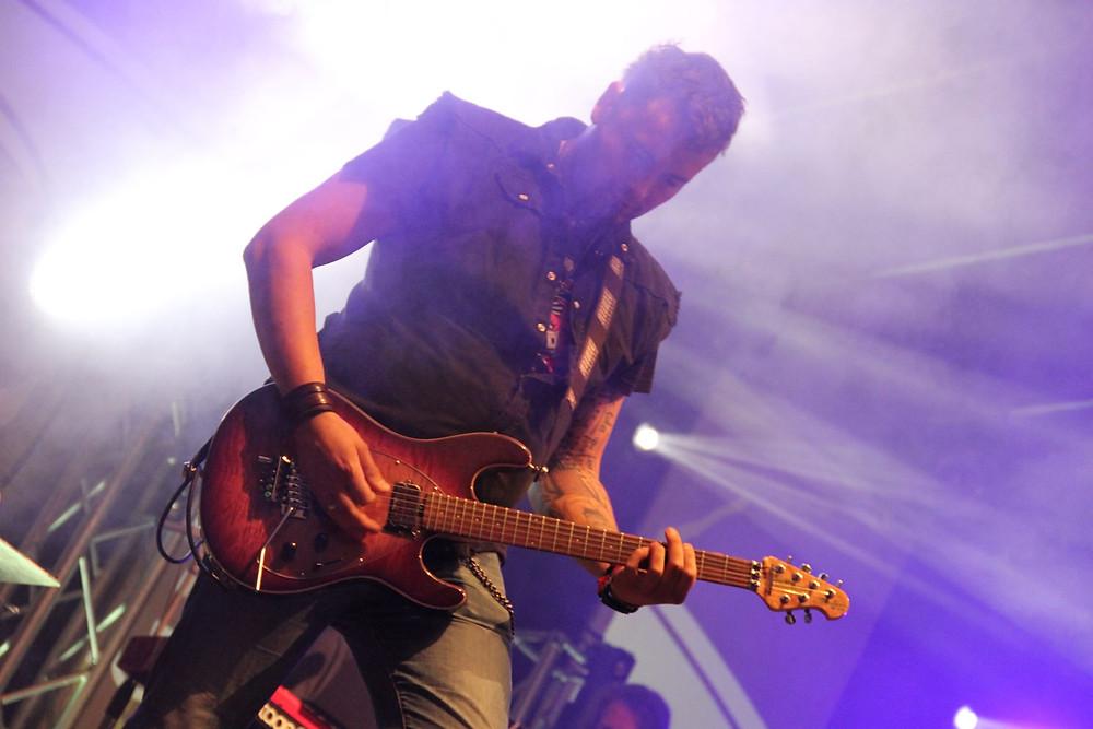 Patrick Geisler, Lead Gitarrist bei Steel Rocks