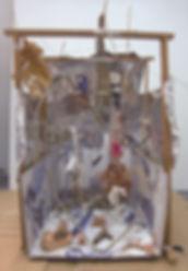 「失跡するバラード」箱庭 Miniature garden