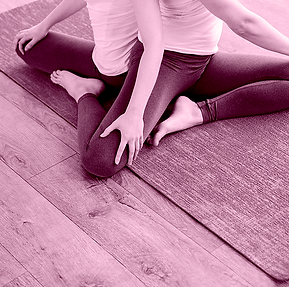 Yoga position two people