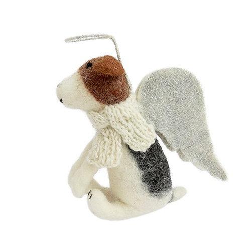 Felt Dog, Freddie - Christmas Tree Topper