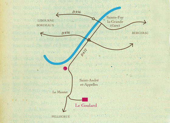 Carte de cheminement