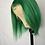 Thumbnail: Lime Green 13x6 Bob Wig 100% human hair