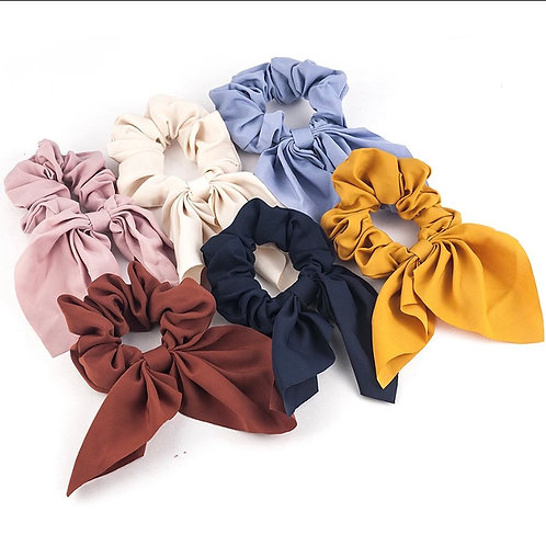 Headband Vintage Knot Elastic Hair Bands Soft Solid
