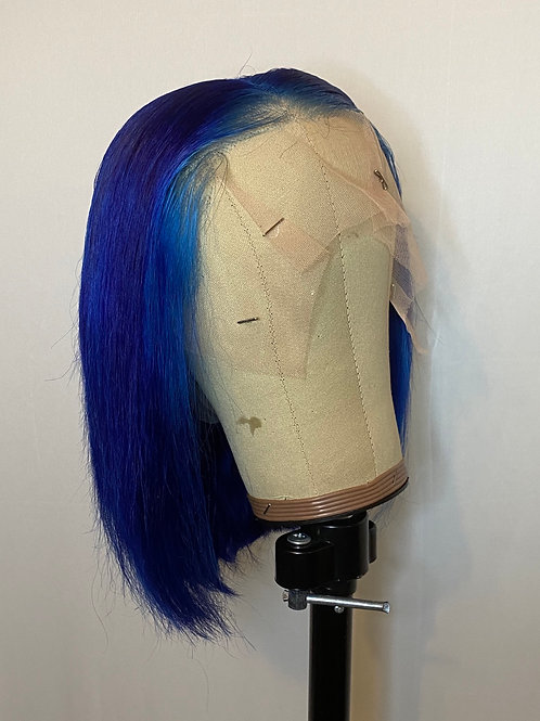 Navy Blue Bob Wig 13x6 Lace Wig