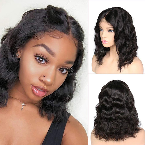 1b Body Wave Bob Wig 13*6 Lace Wig