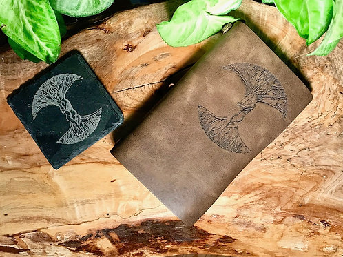 Leather Journal - My Tree of Life