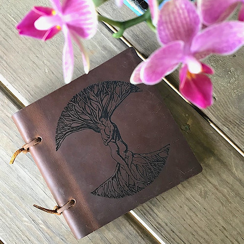 Sketch Leather Journal -My Tree of Life