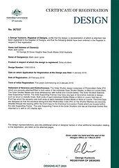 Solar Shutters. Design Patent Cert.jpg