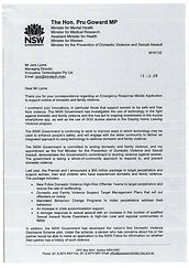 Emargency Response.Australian Gov. _Page